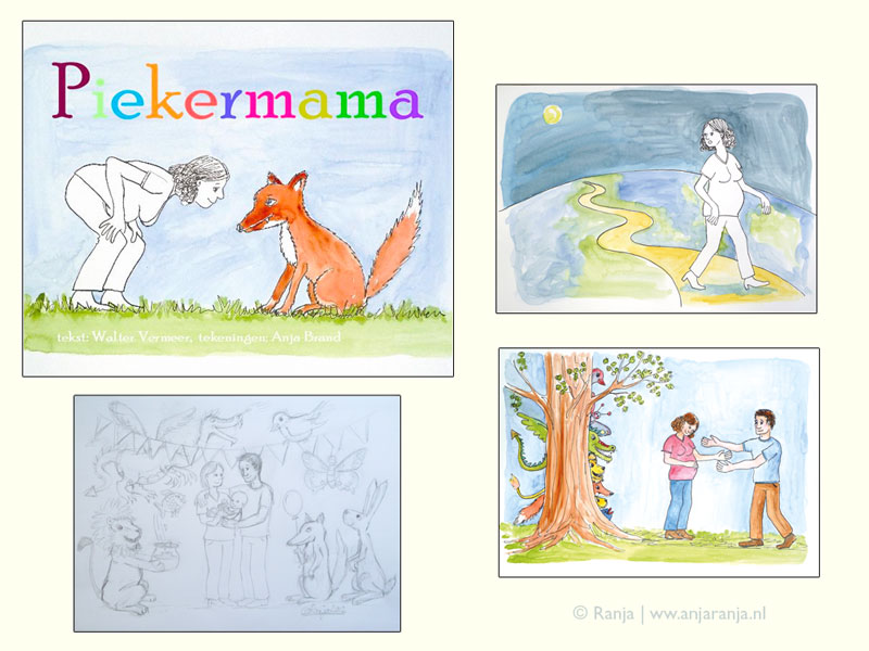 Illustraties bij verhaal